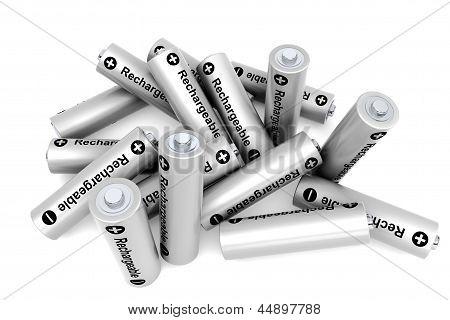 Pila de baterías recargables