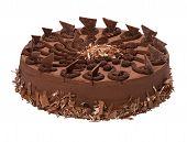 stock photo of tort  - Chocolate torte  - JPG