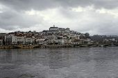 Coimbra Under Dark Skies