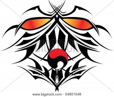 Yin Yang Devil Tribal