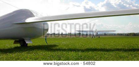 Glider On Aerotow