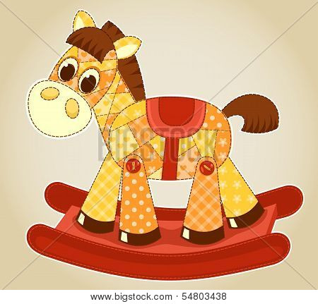 Application rocking horse