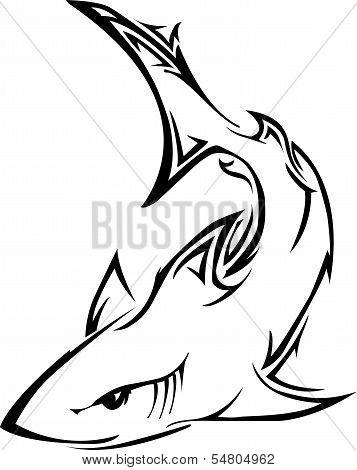 Shark.Tribal Animals.