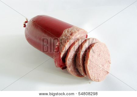 raw-cooked Sausage