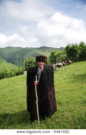 Herdsman In Mountains