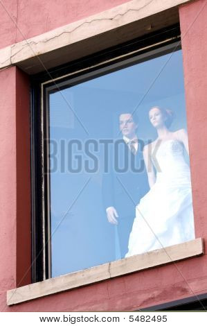 Bride And Groom Mannequins