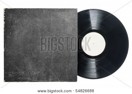 Retro Lp Vinyl Record With Sleeve
