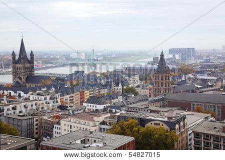 View Of The City Cologne
