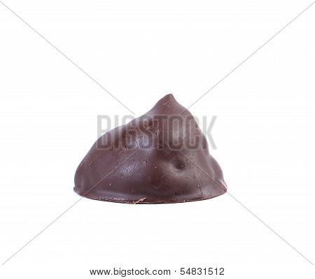 Chocolate truffle candy.
