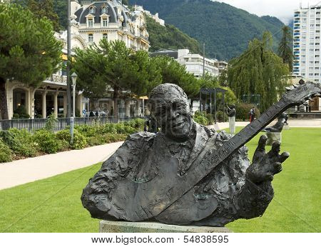 Monument Of Bluesman B.b. King, Montreux, Switzerland