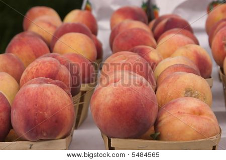 Peaches In Cartons