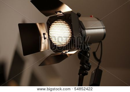 Studio flash light photography equipment