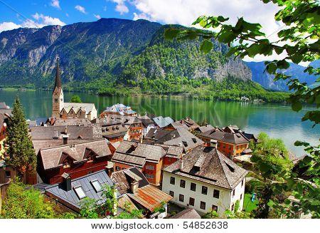 Hallstatt - pictorial Alpine village, Austria