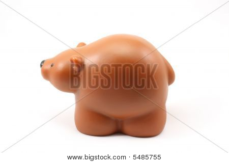 Brown Child's Toy Bear