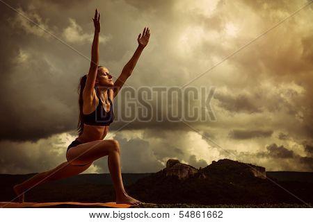 Sun Salutation Yoga Pose Sequence
