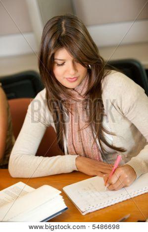 Beautiful University Student