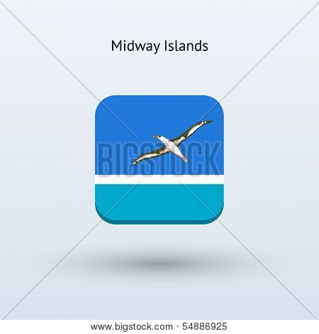 Midway Islands flag icon