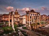 stock photo of saturn  - Roman Forum  - JPG
