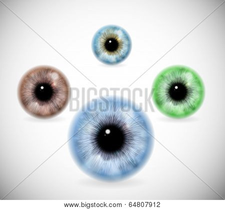 Pupils Of Different Colors