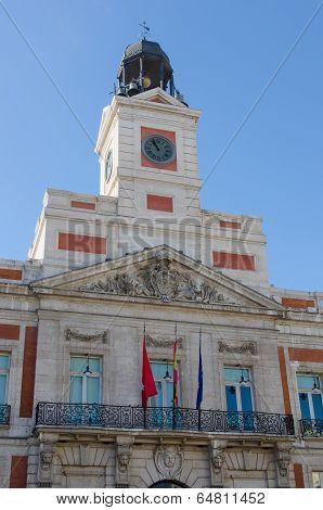 Real Casa De Correos Clock