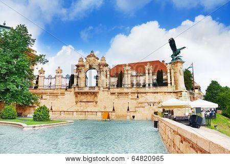Buda Castle, Royal Palace, Habsburg Gate