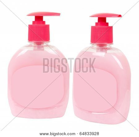 Light Rosy Soap Containers