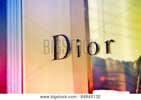 Dior Flagship Store Sign