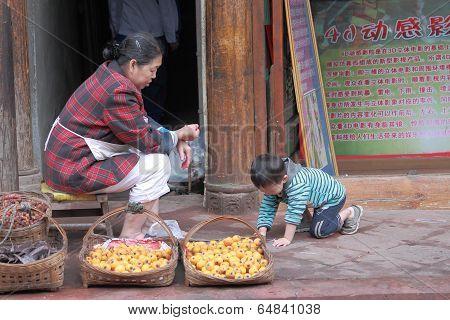 Country life Chengdu China