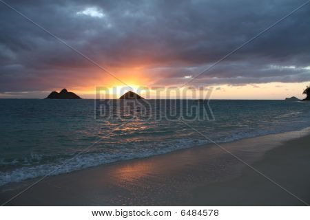 Hawaiian Beach Sunrise