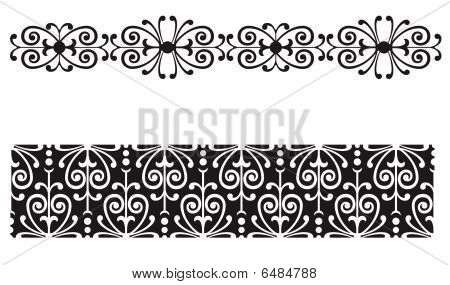 Lace Scrollwork Border