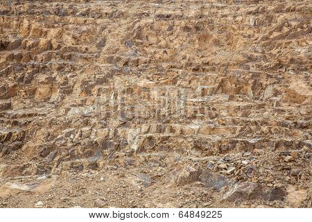 Soil And Rock  Layers In The World