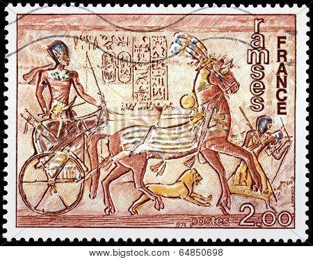 Fresco Abu-simbel
