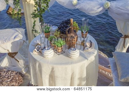 Decoration for romantic date.