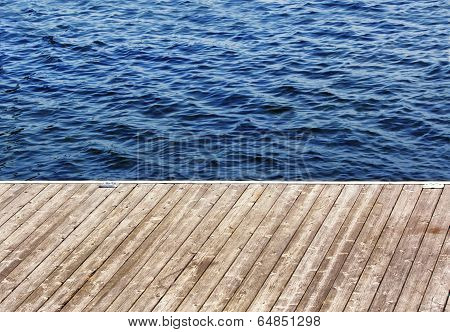 A Dock On The Lake