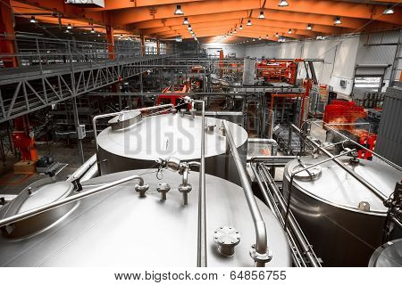 Brewery Interior, Equipment