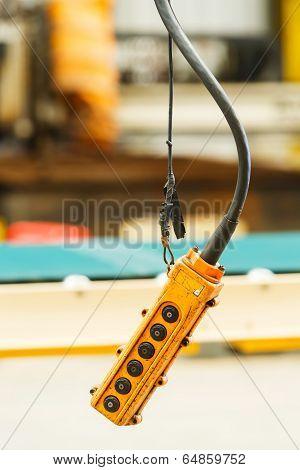 Hoist And Crane Pendant Control Box