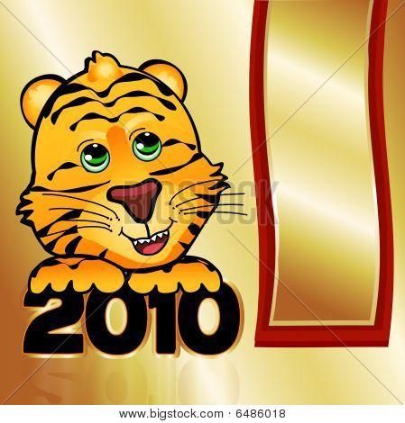 Golden 2010 Tiger