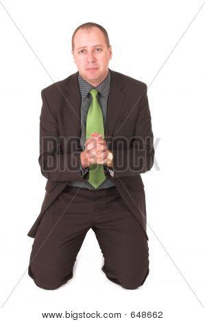Begging Businessman #2