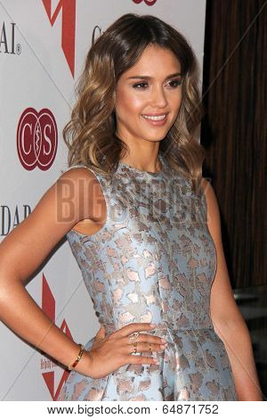 LOS ANGELES - MAY 9:  Jessica Alba at the The Helping Hand of Los Angeles Mother's Day Luncheon at Beverly Hilton Hotel on May 9, 2014 in Beverly Hills, CA