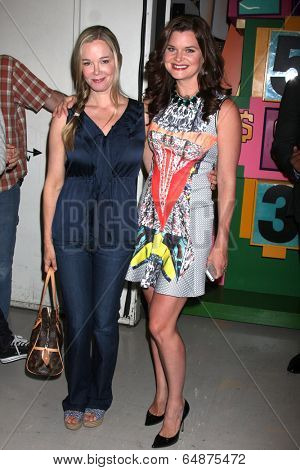 LOS ANGELES - MAY 6:  Jennifer Gareis, Heather Tom at the Bold & Beautiful Celebrates Emmy Nominations at CBS Television City on May 6, 2014 in Los Angeles, CA