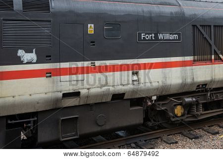 The Train From Fort William