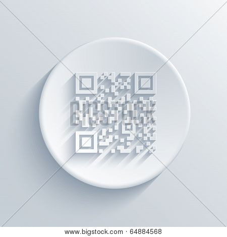 Vector modern qr code background