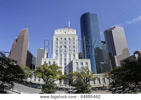 Houston City Hall, Texas