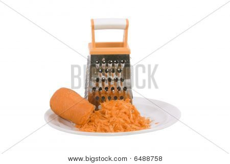 Grater And Carrot