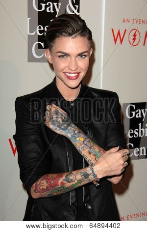 LOS ANGELES - MAY 10:  Ruby Rose at the L.A. Gay & Lesbian Center's