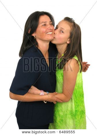 Young Girl And His Mother