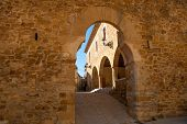 pic of mola  - Benassal Arc de la Mola Benasal in Maestrazgo Castellon at spain - JPG