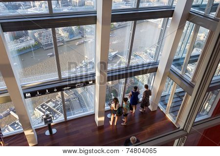 Inside the Shard, London