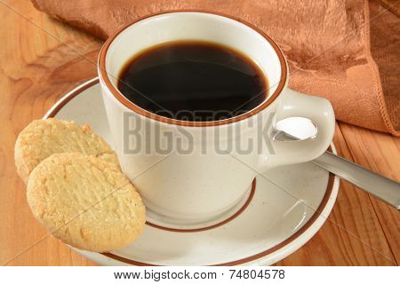 Coffee And Sugar Cookies