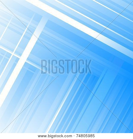 Abstract Blue Background. Vector